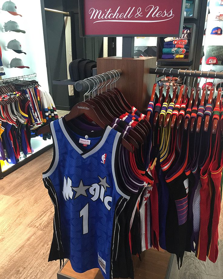 New Swingman Jerseys in-store today come by and check them out!  #mnesslondon #mitchellandnesseurope #nostalgia #nba #hardwoodclassics #Magic #kings #pistons #knicks #rockets #sonics #suns #warriors #cavs #sixers