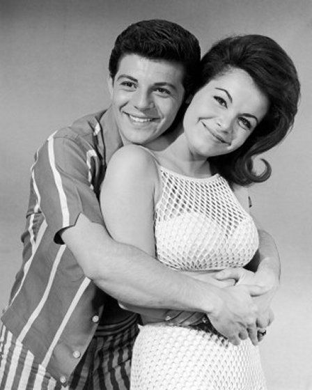 Frankie Avalon and Annette Funicello- b/c I loved them as a little girl. :)