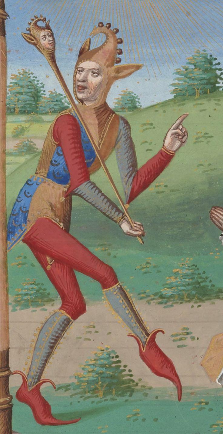 Detail from Psalterium Caroli VIII regis. ms. 1401-1500, Bibliothèque nationale de France, Département des manuscrits
