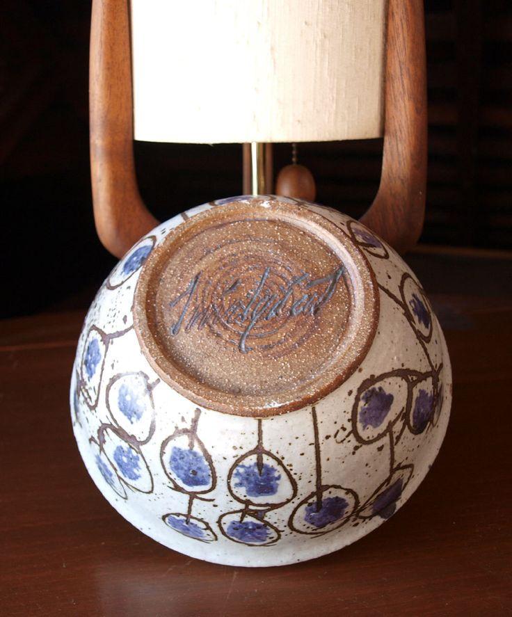 Vintage 70s studio pottery bowl | Apropos Antiques | Etsy