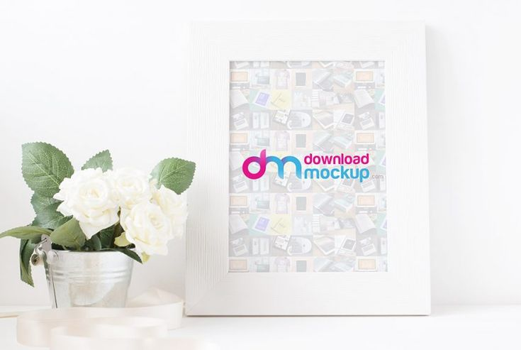 Download Picture Frame Mockup Free PSD at DownloadMockup.com | Download Free Mockups
