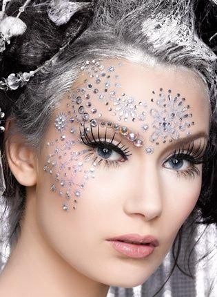 Crystal Embellishments ~ ♥'d by http://makeupartistrycairns.com.au #makeup #inspiration #stunning