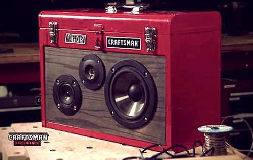 How to: Make a DIY Portable Stereo from a Tool Box
