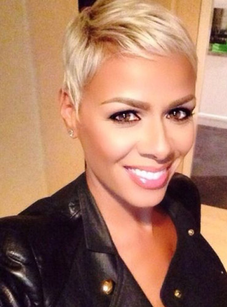 Outstanding 1000 Ideas About Blonde Pixie Cuts On Pinterest Blonde Pixie Short Hairstyles For Black Women Fulllsitofus