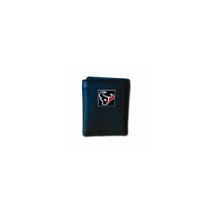 NFL Texans Tri-fold Wallet - Embossing Personalized Gift Item