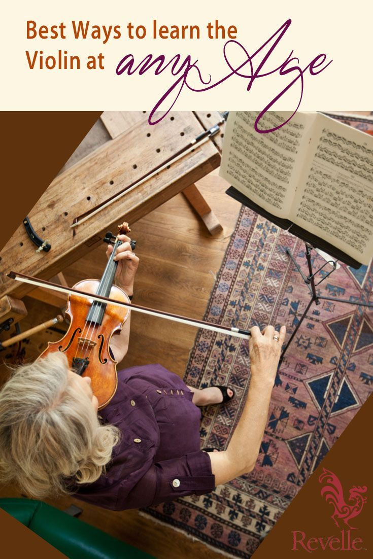 Best Ways to Learn the Violin at Any Age http://www.connollymusic.com/revelle/blog/Best-Ways-to-Learn-Violin-at-Any-Age @Revelle Strings Violins