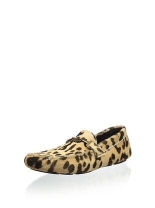 62% OFF Roberto Cavalli Men's Slip On Macula (Leopard)