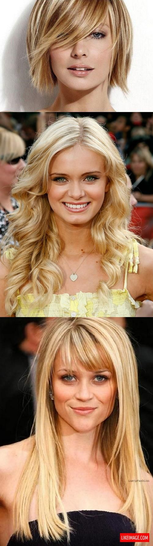 Blonde hairstyles - 8 PHOTO!