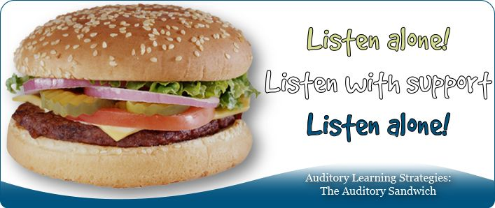 Auditory Learning Strategies: The Auditory Sandwich image