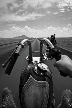 Harley Davidson with old school ram horn handle bars | #motorcycle #motorbike