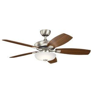 KK330013NI Canfield Pro Large Fan (52'' to 59'') Ceiling Fan - Brushed Nickel