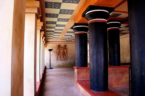 Knossos CRETE - HELLAS  l  Oh, if I could just back curtain of time....