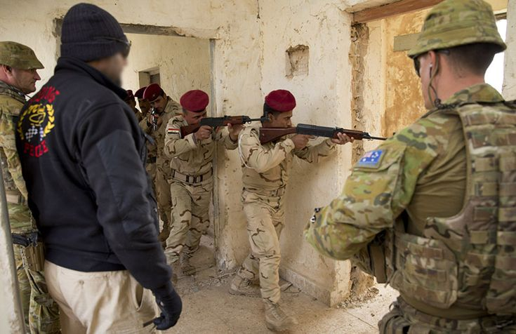 Direct Aussie support in taking of Ramadi