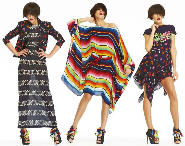 Mexico represents in House of Holland's pre-spring 2012 collection - No. 1