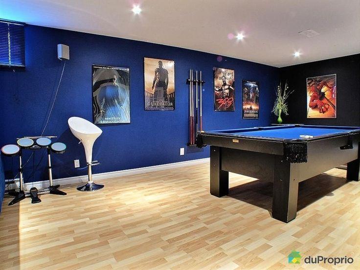 Recreation Room Ideas, Designs, Decor, DIY, For Office, Games, Interior,  Kids, Rustic, Wall, Furniture, Plan, Basement, Modern, Family, Teen, Work,  Home, ...