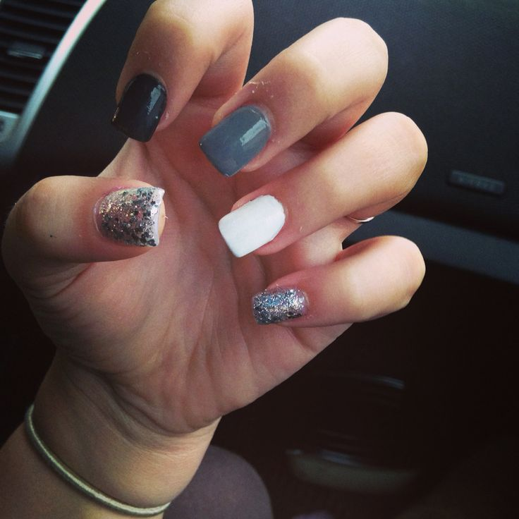 Acrylic nails design for fall