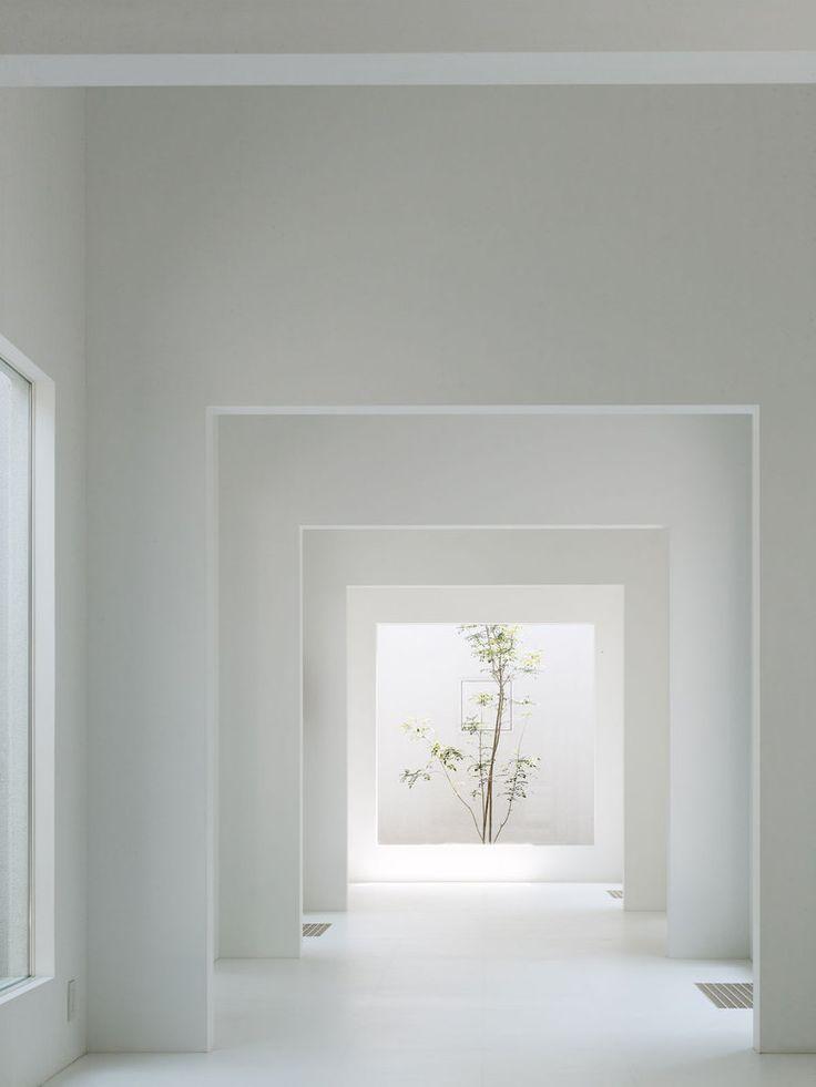 """Buscar resaltar vistas. En pasillos hacia patios laterales mediante""""marcos"""", celosias o pergolados"""