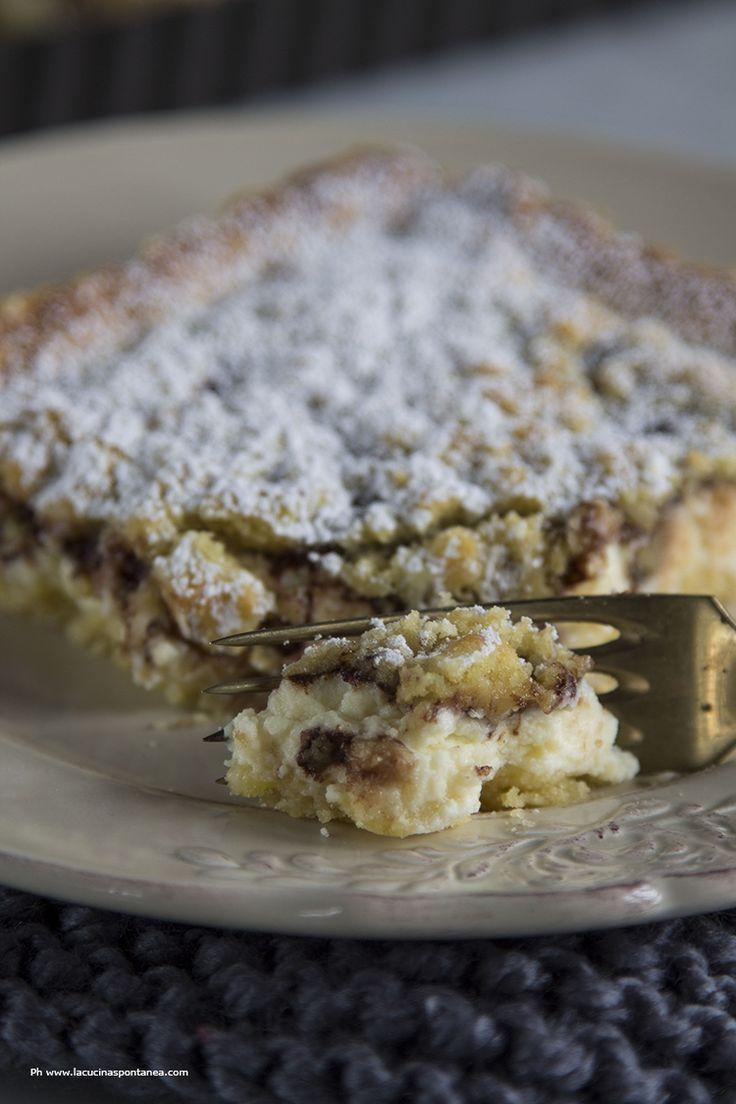 La cucina spontanea - ricette, fotografie e parole.: Crostata ricotta e cioccolata