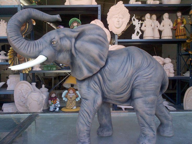 Elefante De Cerámica - Bs. 3.900,00 en MercadoLibre