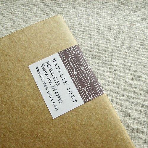 design mailing labels - Ozilalmanoof