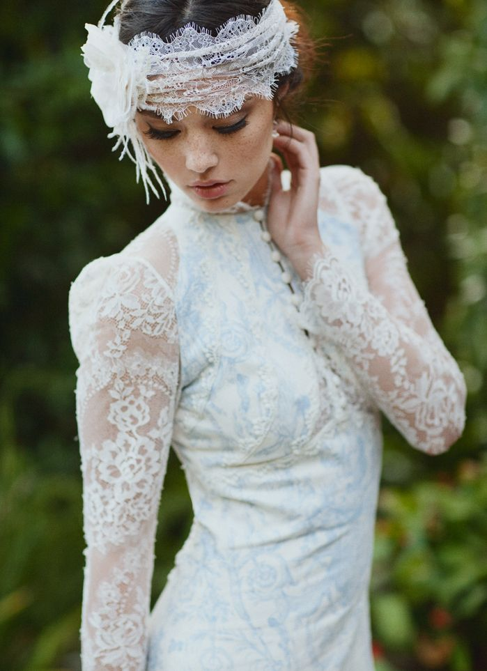 Claire Pettibone 'Toile Francais' wedding gown http://www.clairepettibone.com/bridal/?cp=gowns/toile_francais   Photography: This Modern Romance via @Green Wedding Shoes / Jen Campbell