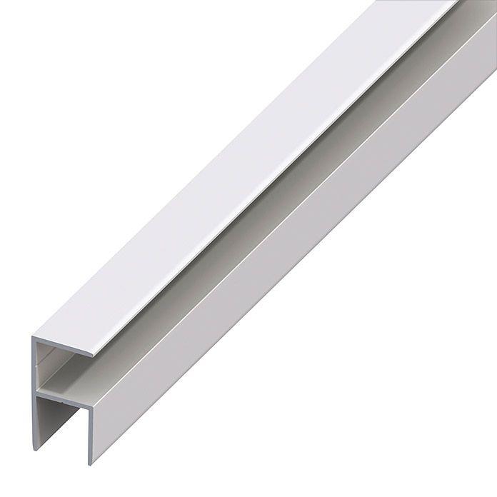 E Clampline16 0 Alu Silbergs 1m Aluminium Wandverkleidung Holzplatte