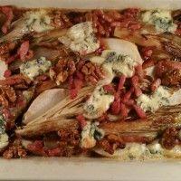 Witlof met peer en blauwe kaas : Recepten van Domy