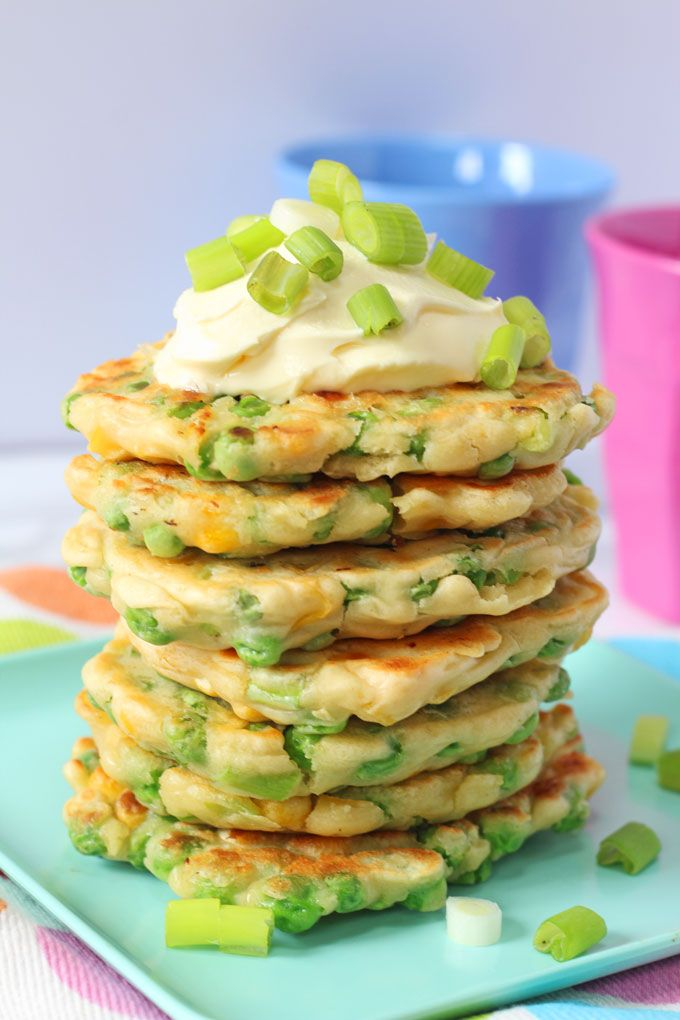 Pea and Sweetcorn Fritters