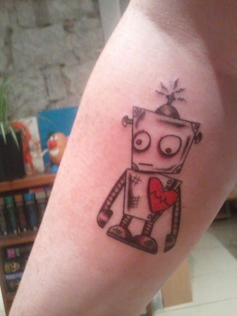 1000 ideas about robot on tattoos
