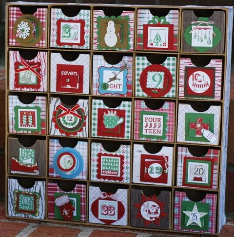 25 Amp Counting Advent Calendar By Marmie43gs Cards And