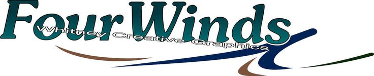 """Four Winds RV  With Flairs GRAPHIC DECALS 57"""" X 11.75"""" Made fresh Not Expired! #Whitney"""