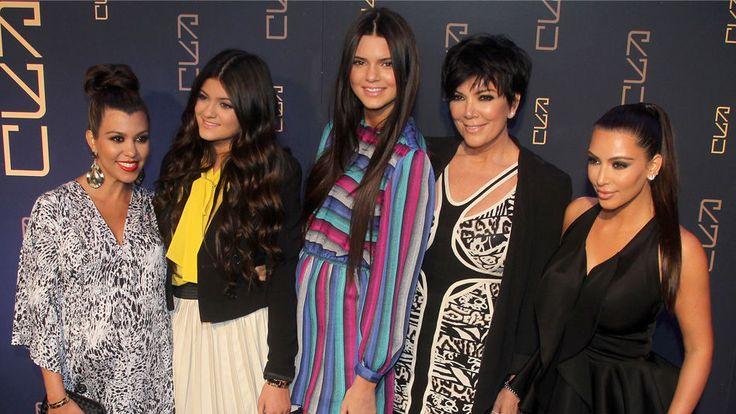 Las hermanas Kardashian y su madre