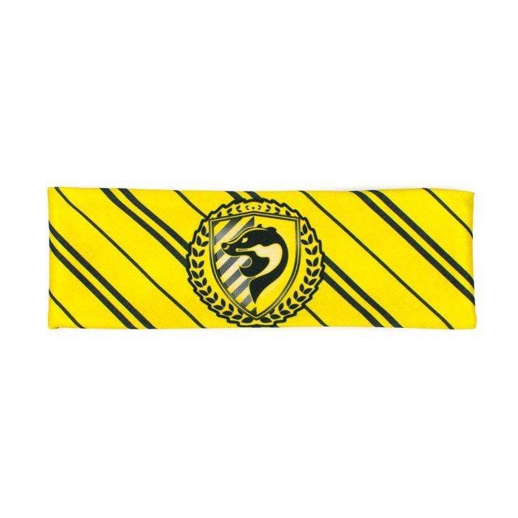 Yellow Badger House Pride Workout Headband