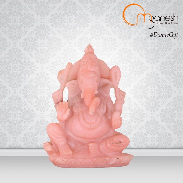 The #DivineGift of a Lord Ganesha idol made from Opal bestows the power of fulfilment and enhances financial property.  http://bit.ly/1j9naBX