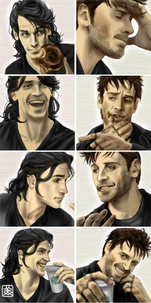 Thomas and Harry from Jim Butcher's Harry Dresden series -- love it (and them)!