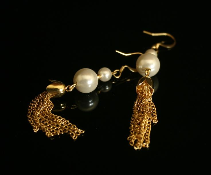Astrid - Cercei din perle de Mallorca
