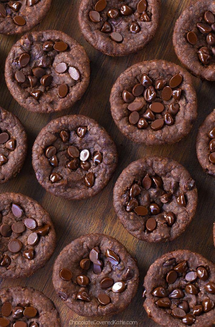 Chocolate Black Bean Brownie Bites  The post Chocolate Black Bean Brownie Bites …
