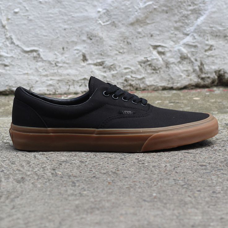 Vans Era Black Gum Sole