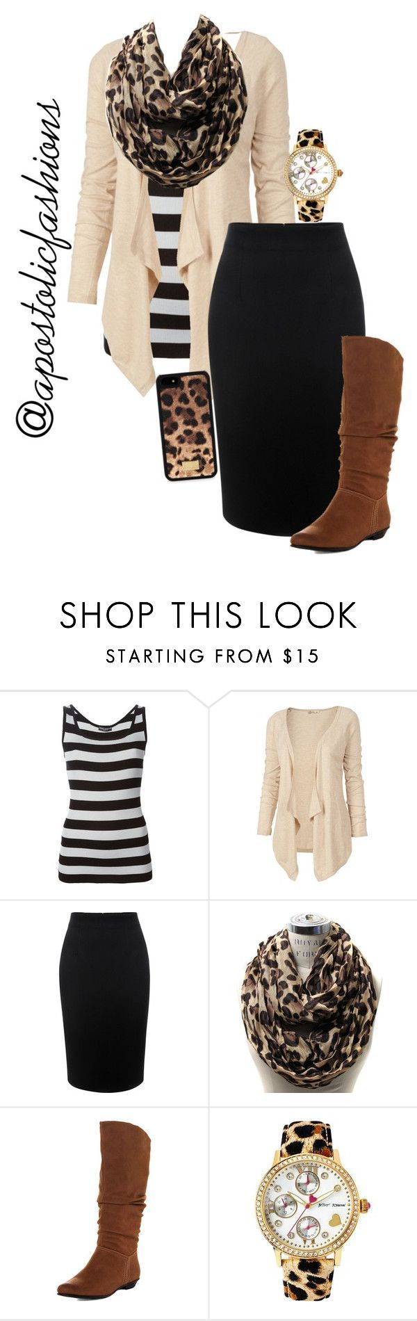 """""""Apostolic Fashions #1355"""" by apostolicfashions on Polyvore featuring Dolce&Gabbana, Fat Face, Alexander McQueen, Dorothy Perkins and Betsey Johnson"""