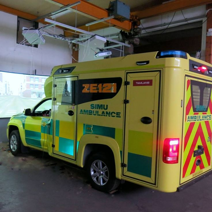 Tamlans-modified Volkswagen Amarok-based Simulation Ambulance designed for Emergency Care teaching.