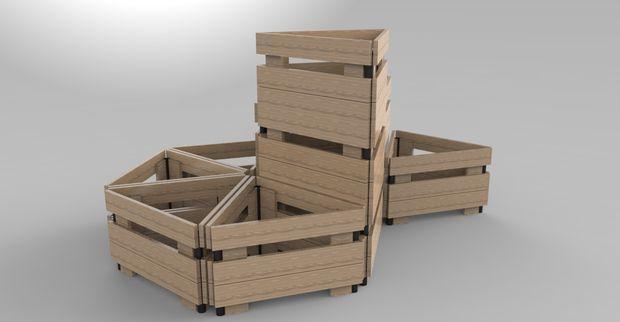 Modular Planter / seat/ table