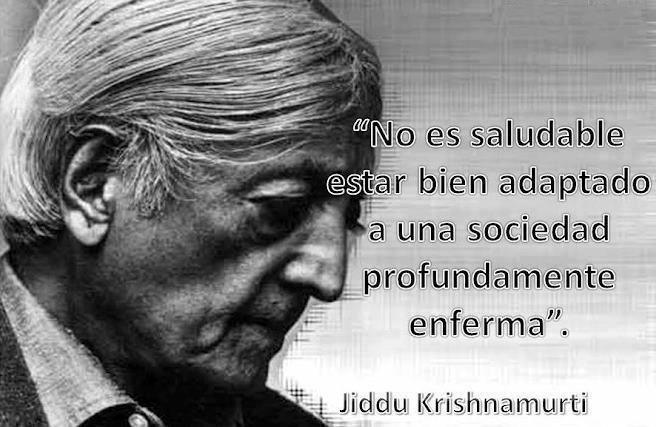 Cita de Krishnamurti