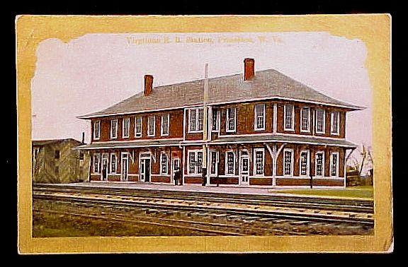 Virginian RR Depot - Princeton, West Virginia,  1910