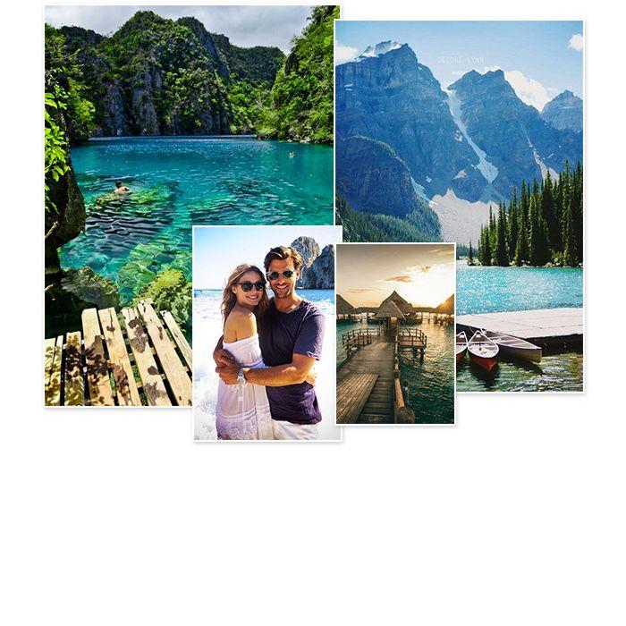 Quelle contrée aux paysages paradisiaques choisir pour passer ses premiers moments de détente en tant que jeunes mariés ? Voici les meilleures idées glanées sur Pinterest, pour se faire rêver ou pour planifier un voyage de noces.