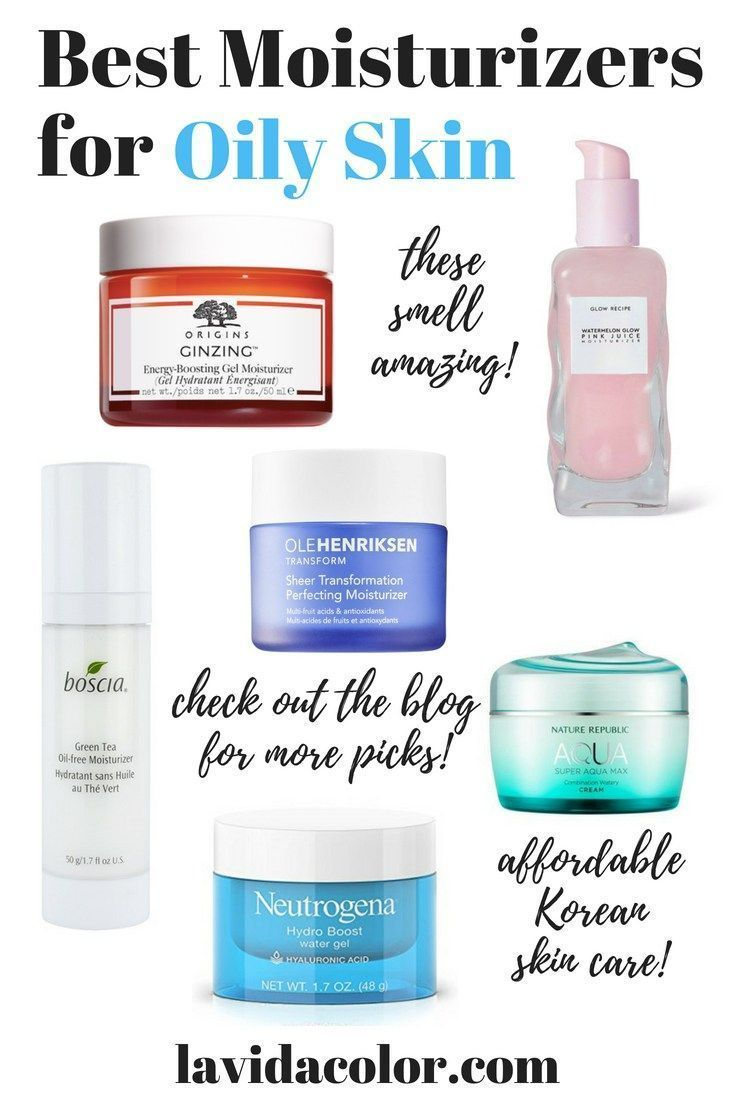 10 Best Moisturizers For Oily Skin In The Summertime Moisturizer