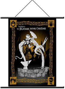 Jack and Fountain Wall Scroll