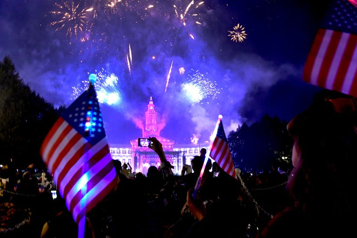 PHOTOS: Independence Eve 2017 fireworks at Denver's Civic Center Park