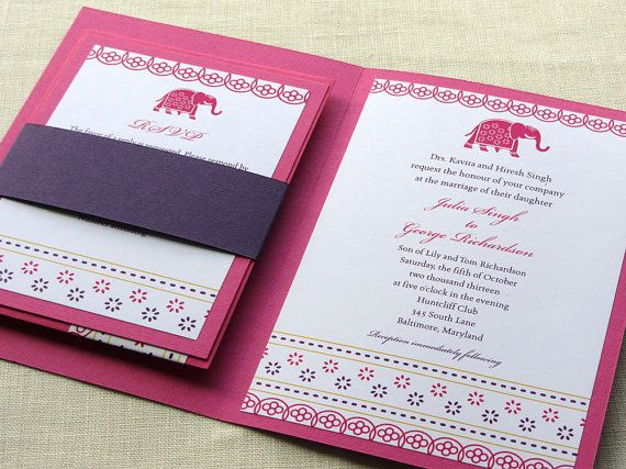 18 best Kankotri images on Pinterest Indian bridal, Indian - formal handmade invitation cards
