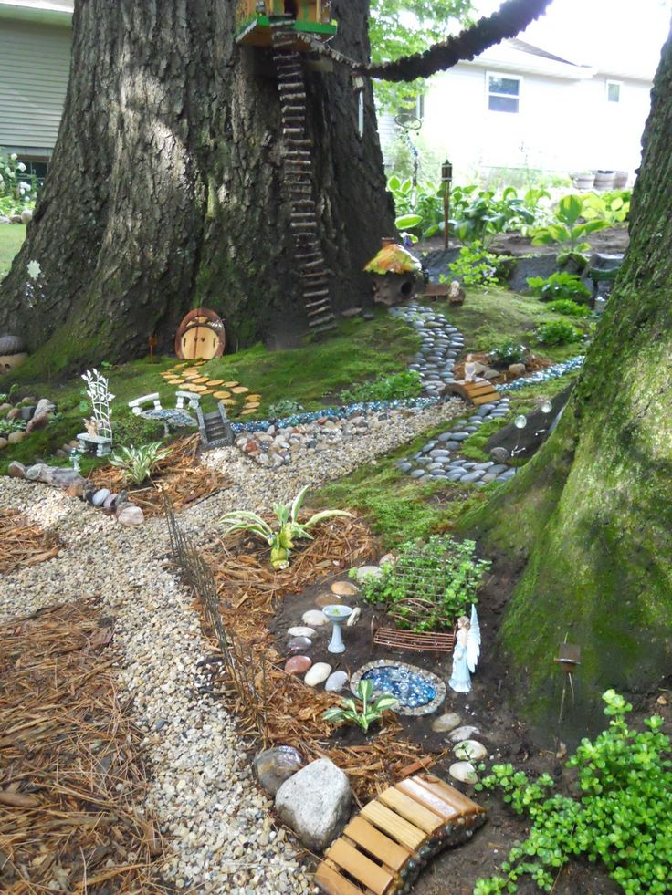 Backyard Fairy Gardens