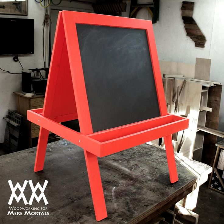 Make a child's art easel. | Woodworking for Mere Mortals